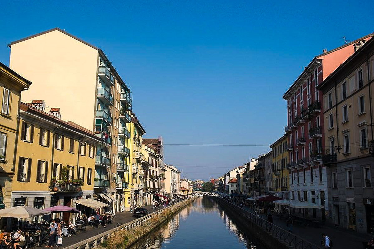 2 days in Milan - Canals in Milan