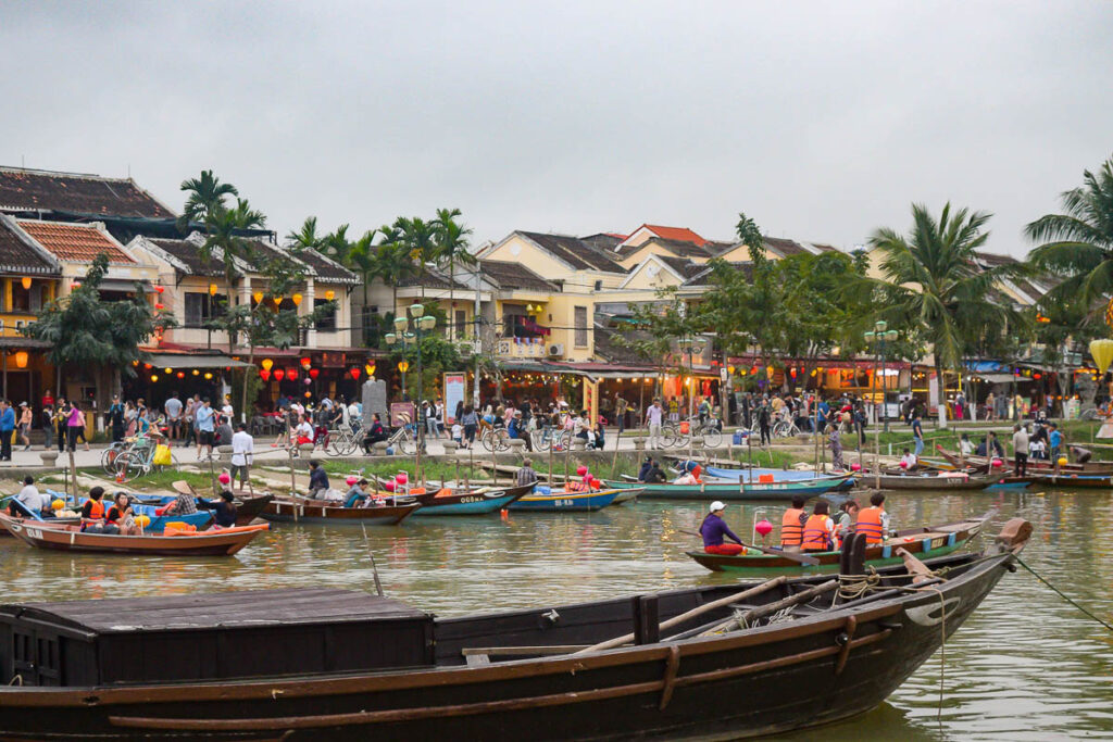 Hoi An Itinerary -River in Hoi An Old Town