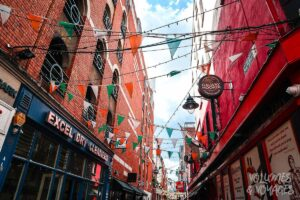 Moving to Dublin - Dublin Street flags