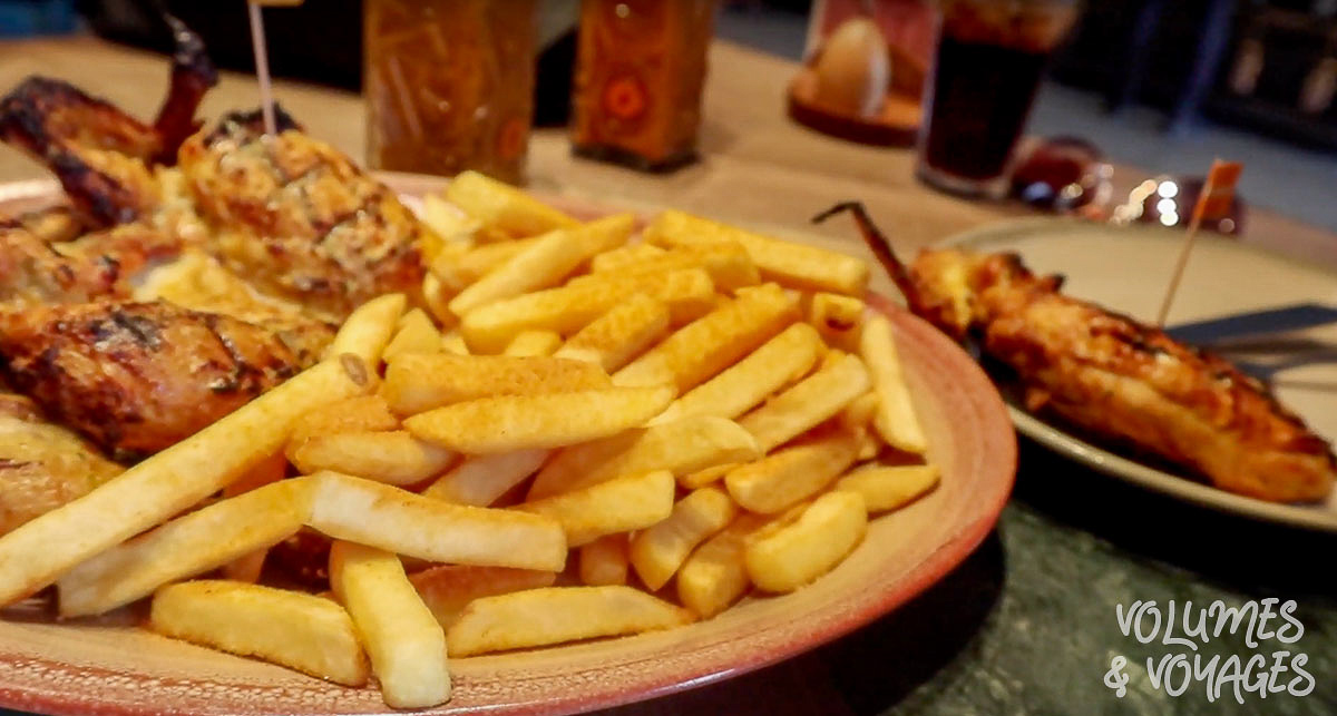 Moving to Dublin - Nandos chicken and chips