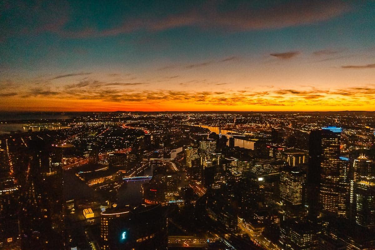 Solo Travel Melbourne-Eureka Skydeck