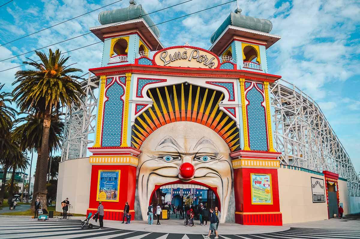 Solo Travel Melbourne-Luna Park