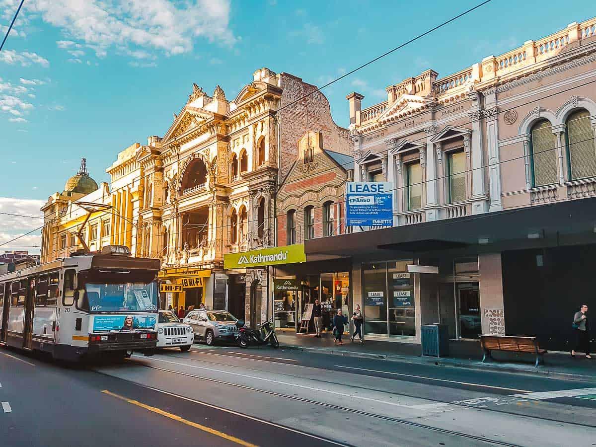 Solo Travel Melbourne-Melbourne Tram