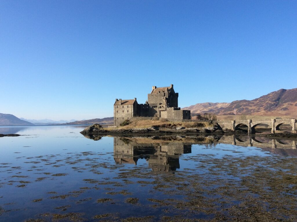 Films Set in Scotland - Eilean Donan Castle