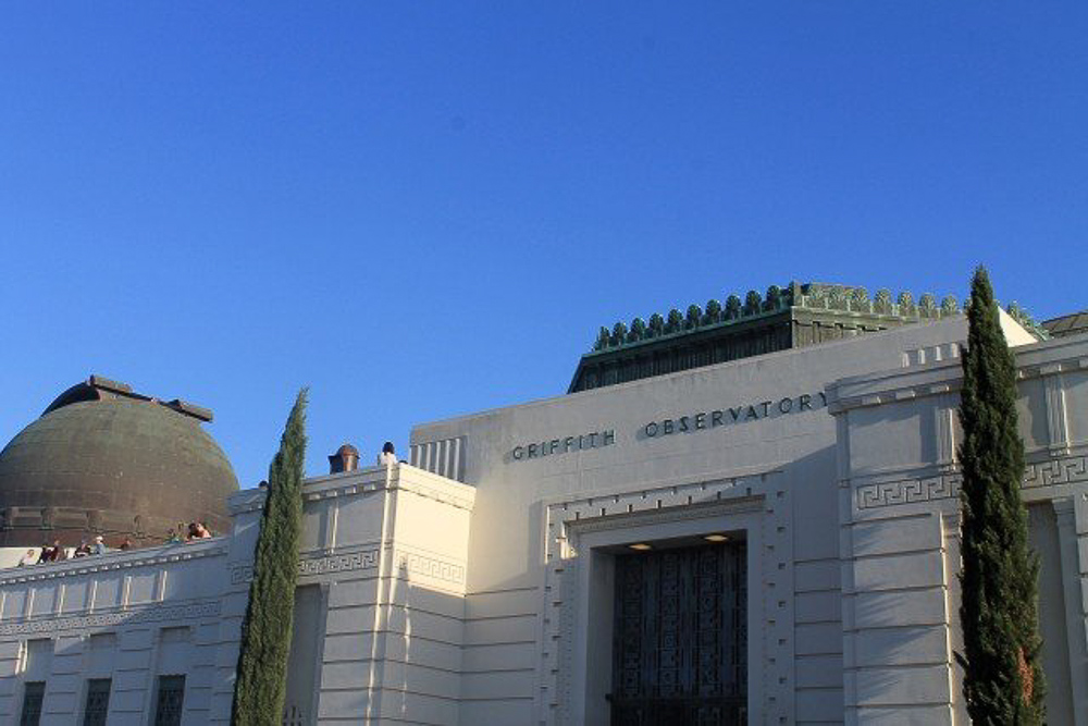 Solo Travel Los Angeles - Griffith Observatory_
