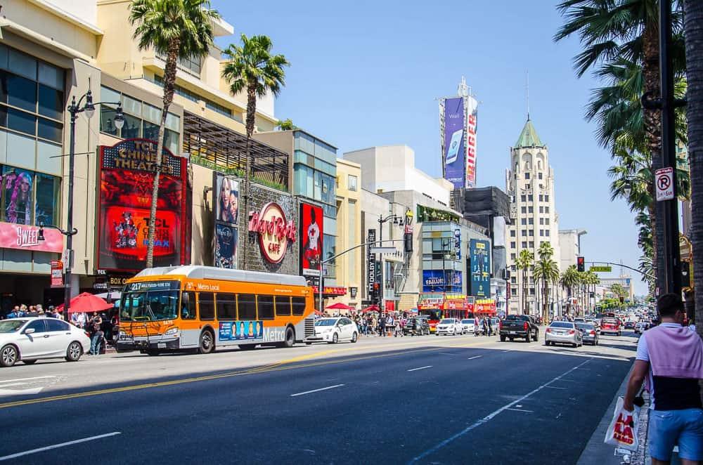 Solo Travel Los Angeles - LA Transit_