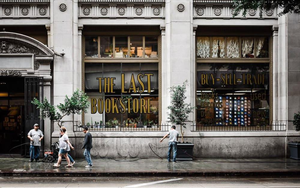 Solo Travel Los Angeles - The Last Bookstore