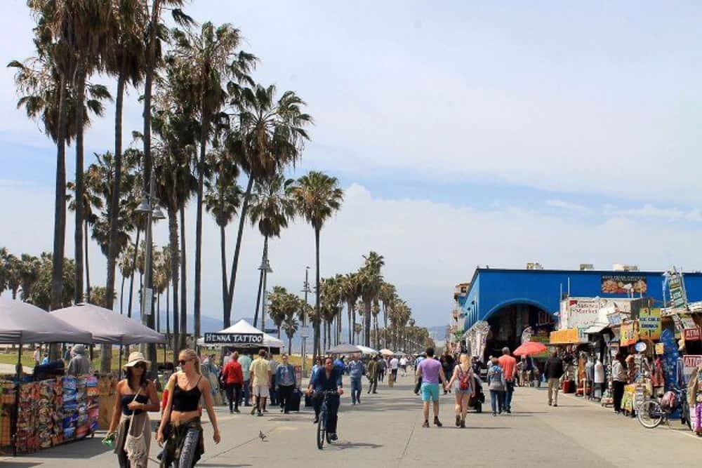 Solo Travel Los Angeles - Venice Beach_
