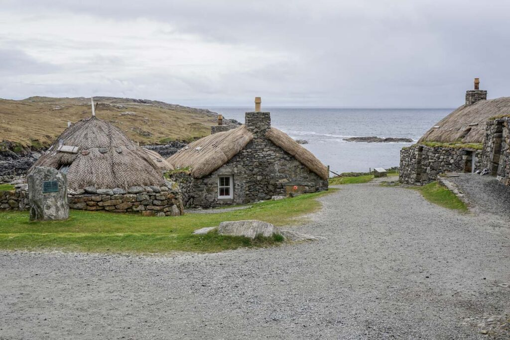 Blackhouse Village on the Isle of Lewis