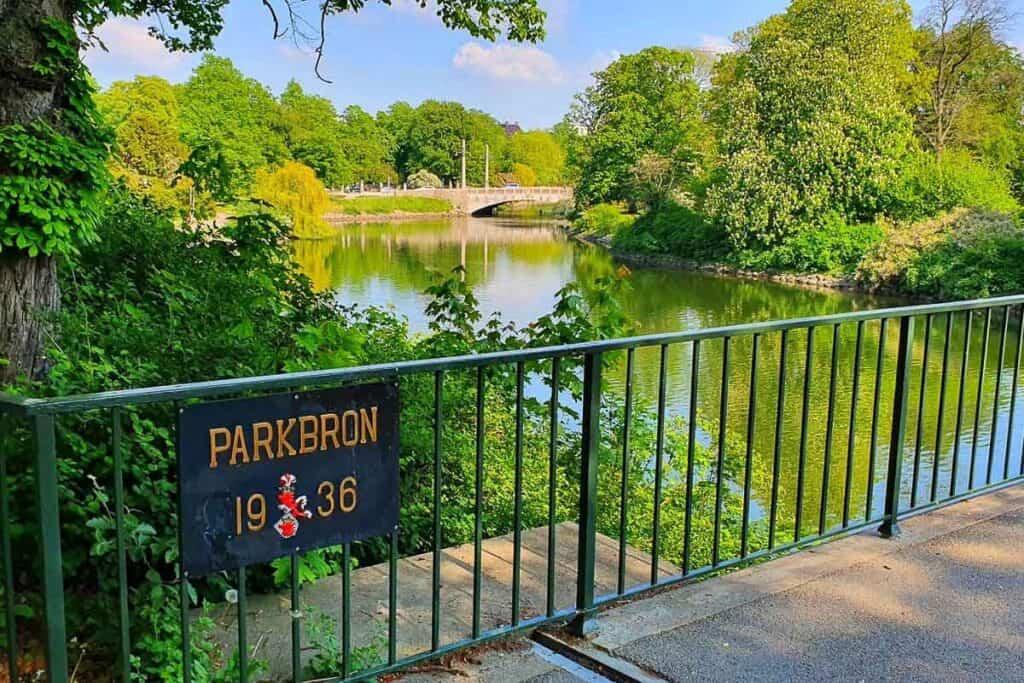 Park in Malmo Sweden