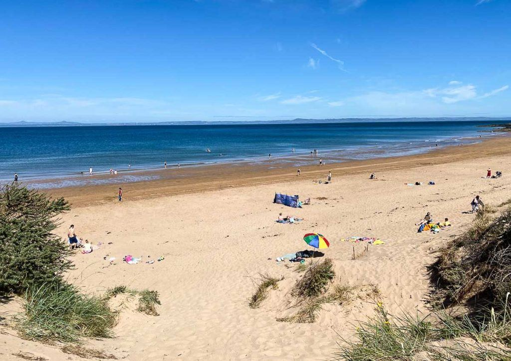 Beaches Near Edinburgh - Gullane Beach