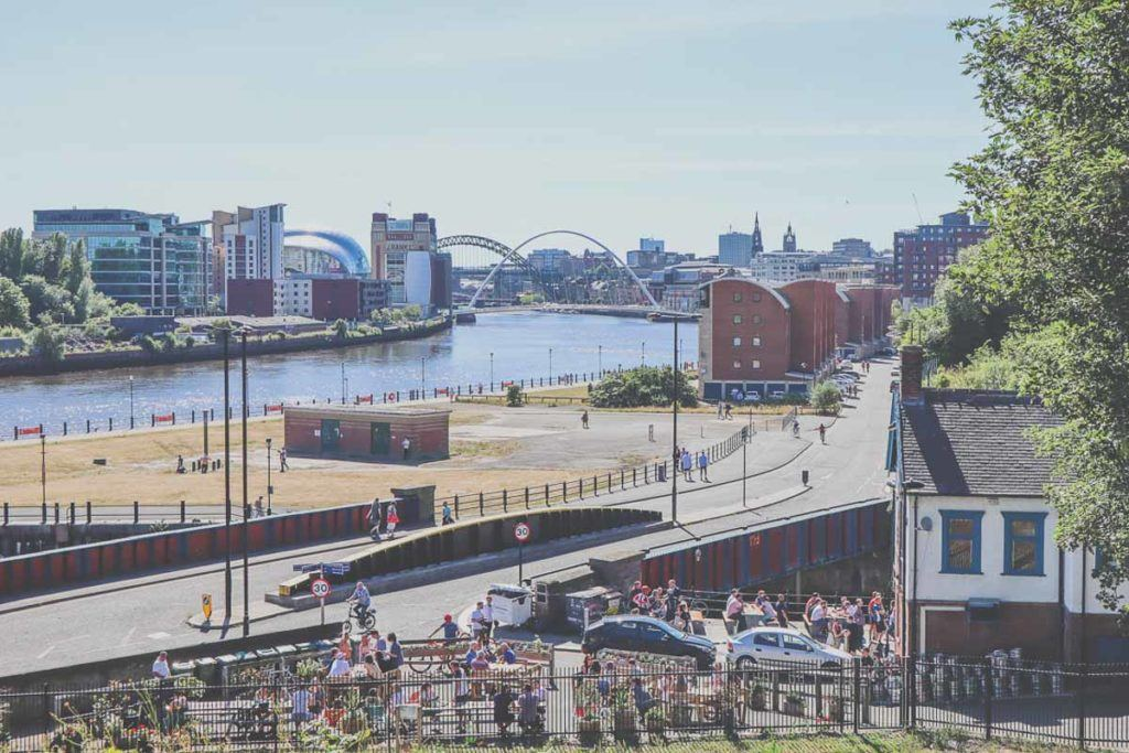 Views of Newcastle - Best Places to See in England