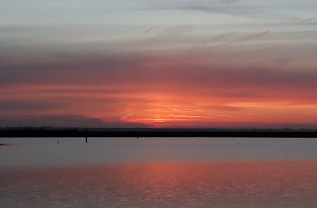 Sunset at Norfolk - Best Places to Visit in England