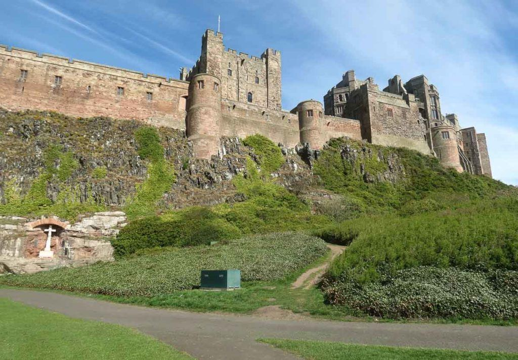 Castle in Northumberland