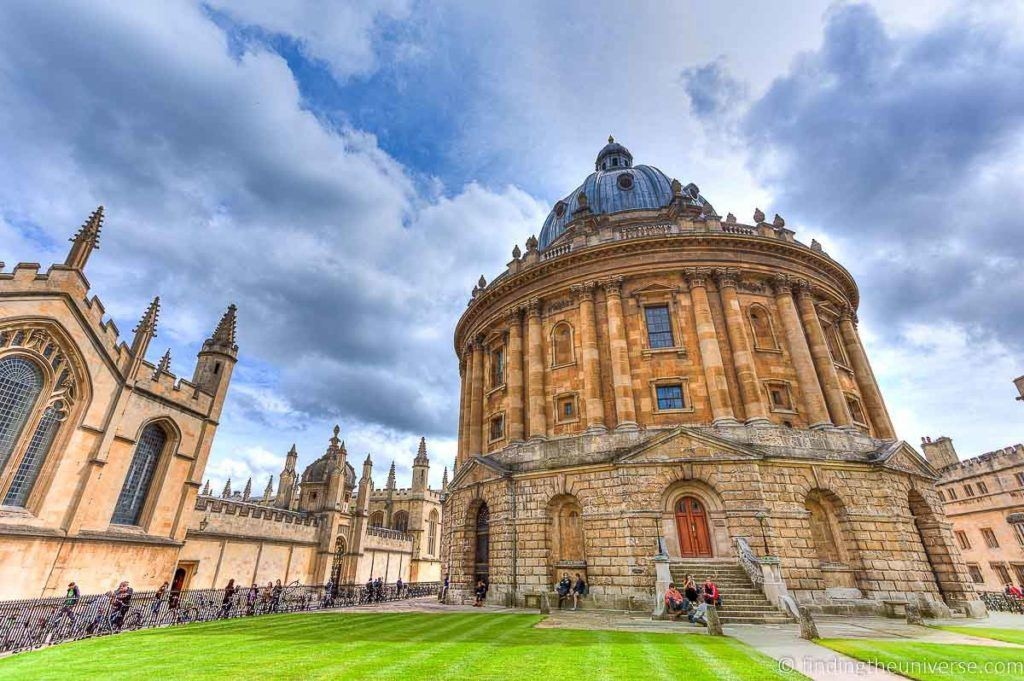 Radcliffe Camera Oxford - Best Places to Visit in England