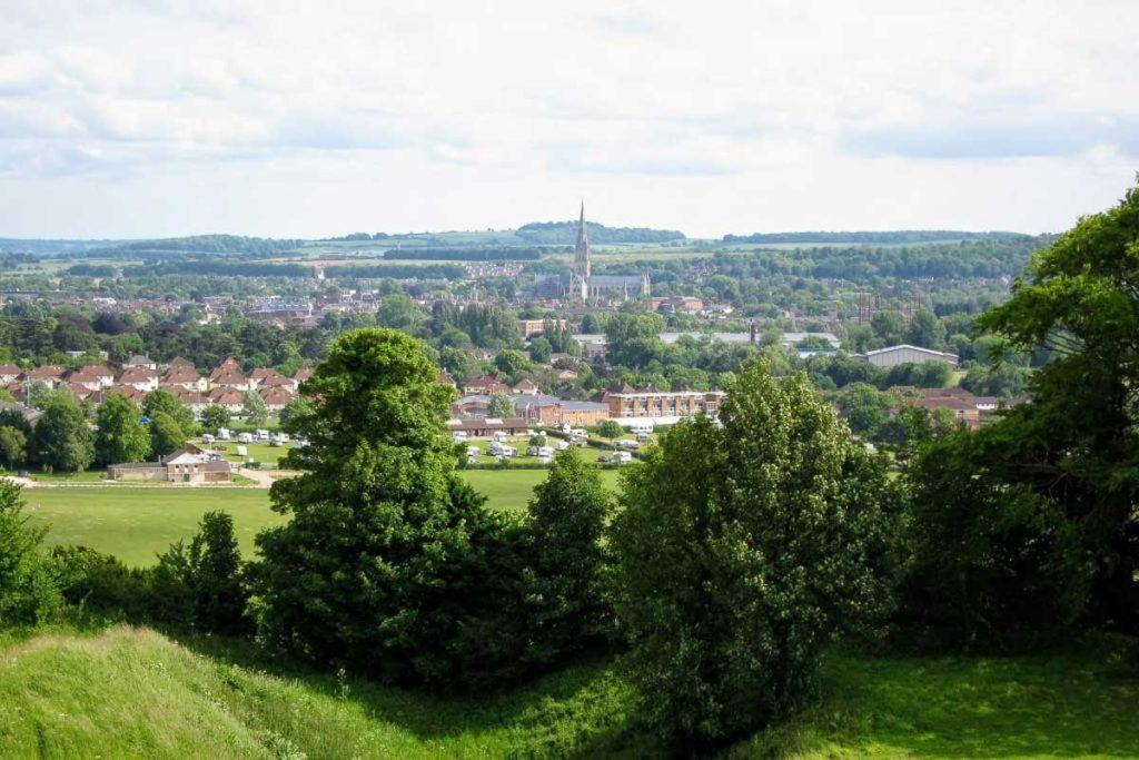 Views over Salisbury - Best Places to Visit in England