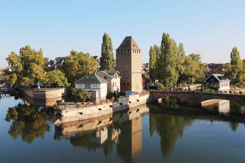Alsace Wine Route - Road trip in France - Riverside village