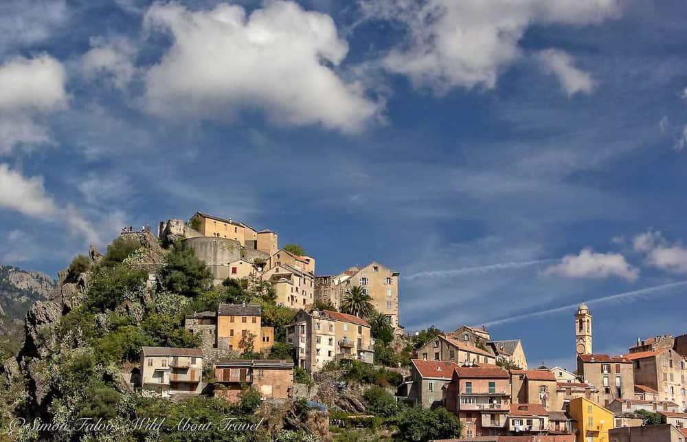 Road trips in France - Corsica - Hilllside village