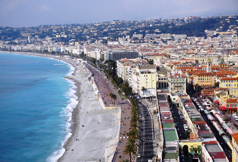 Cote de Azur - French road trip - View in Nice