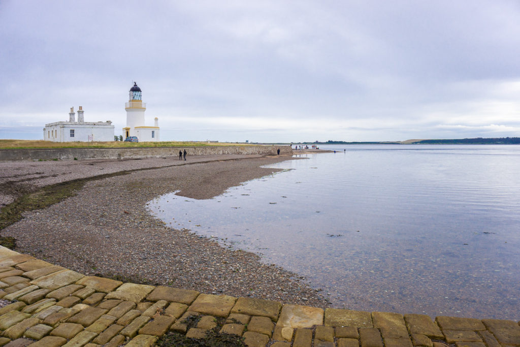 Channory Point Lighthouse at Fortrose - Things to Do in Inverness with Kids