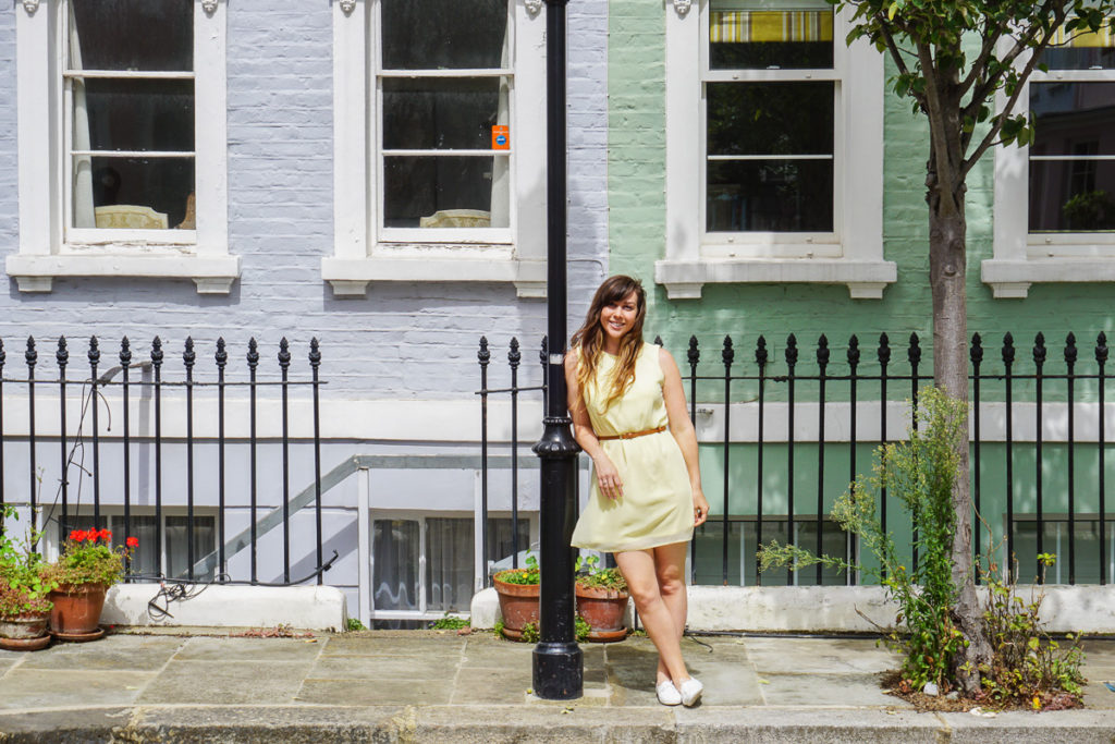Colourful London Houses - Four Day London itinerary