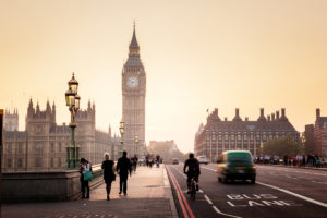 London Four Day Itinerary - Big Ben and Westminster Bridge