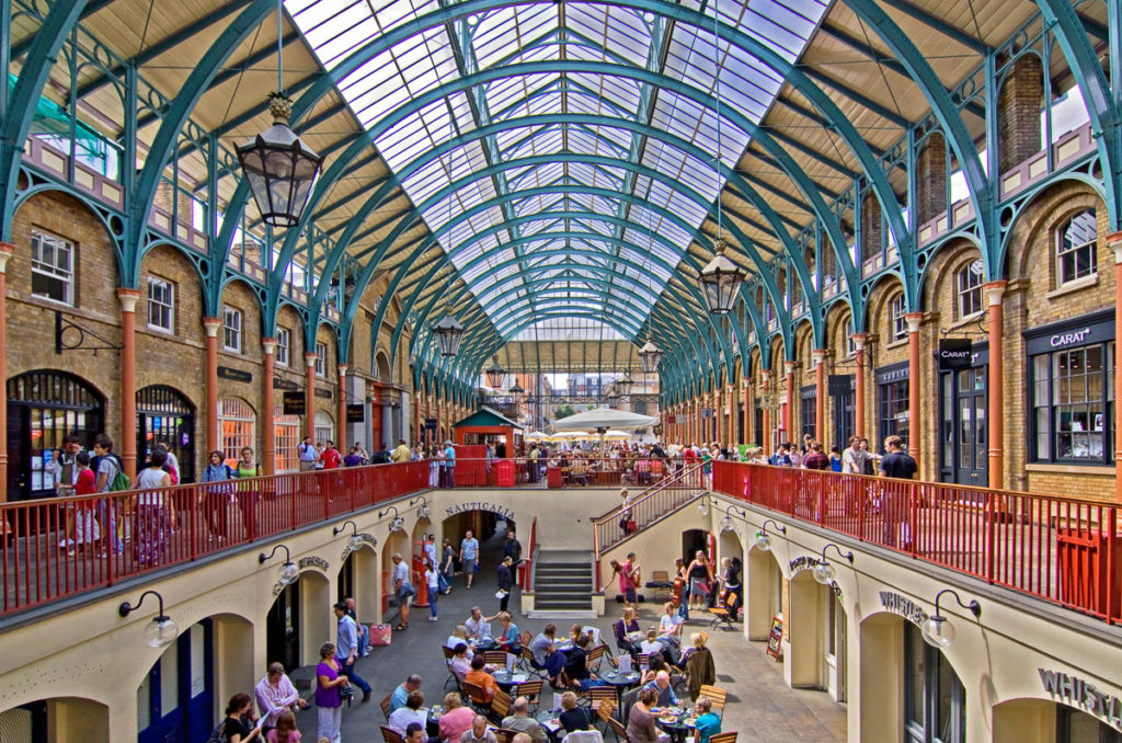 Covent Garden - How to Spend Four Days in London on a Budget