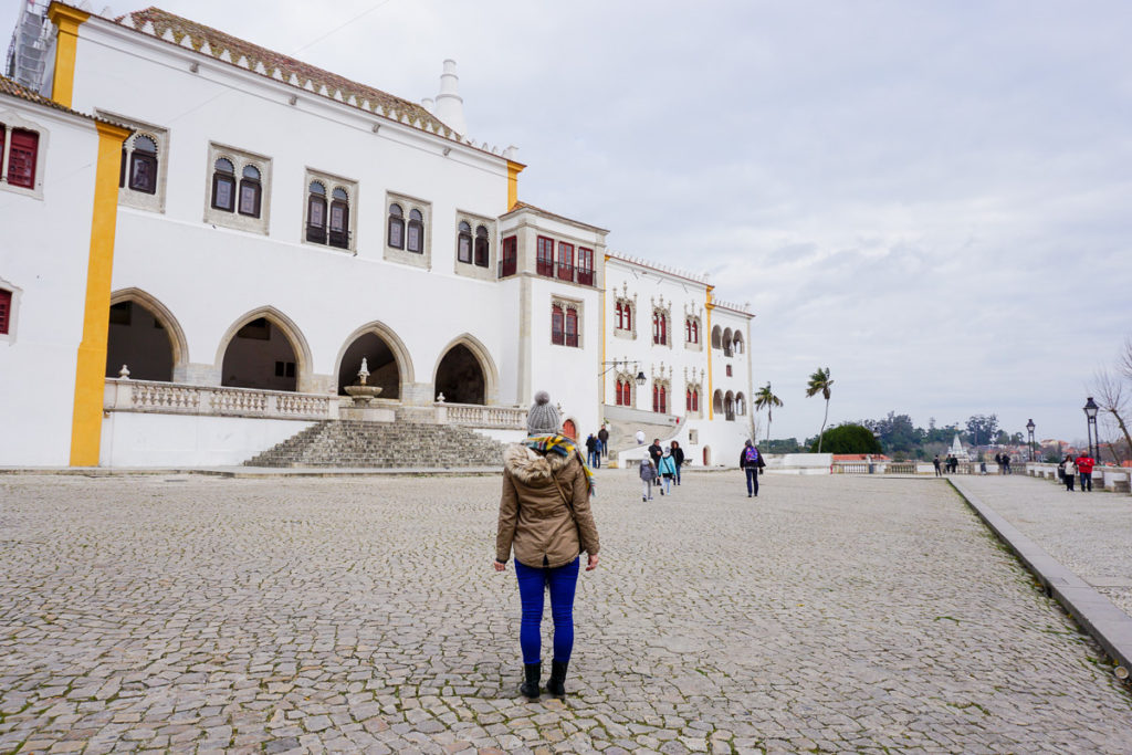 Palace in Sintra Centre - One Day in Sintra Portugal