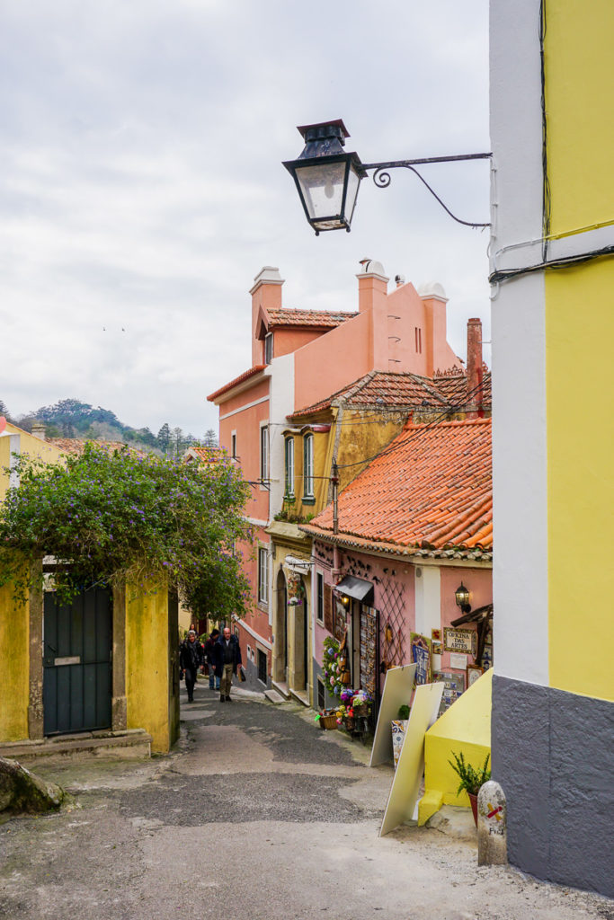 View in Sintra Street - One Day in Sintra Portugal