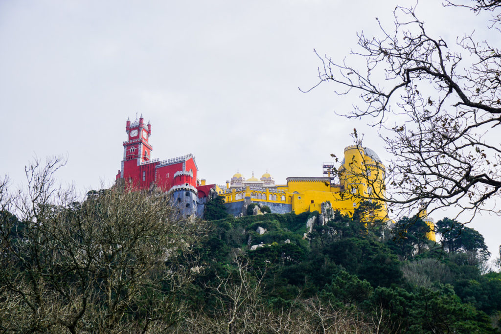 Pena Palace - One Day in Sintra Portugal