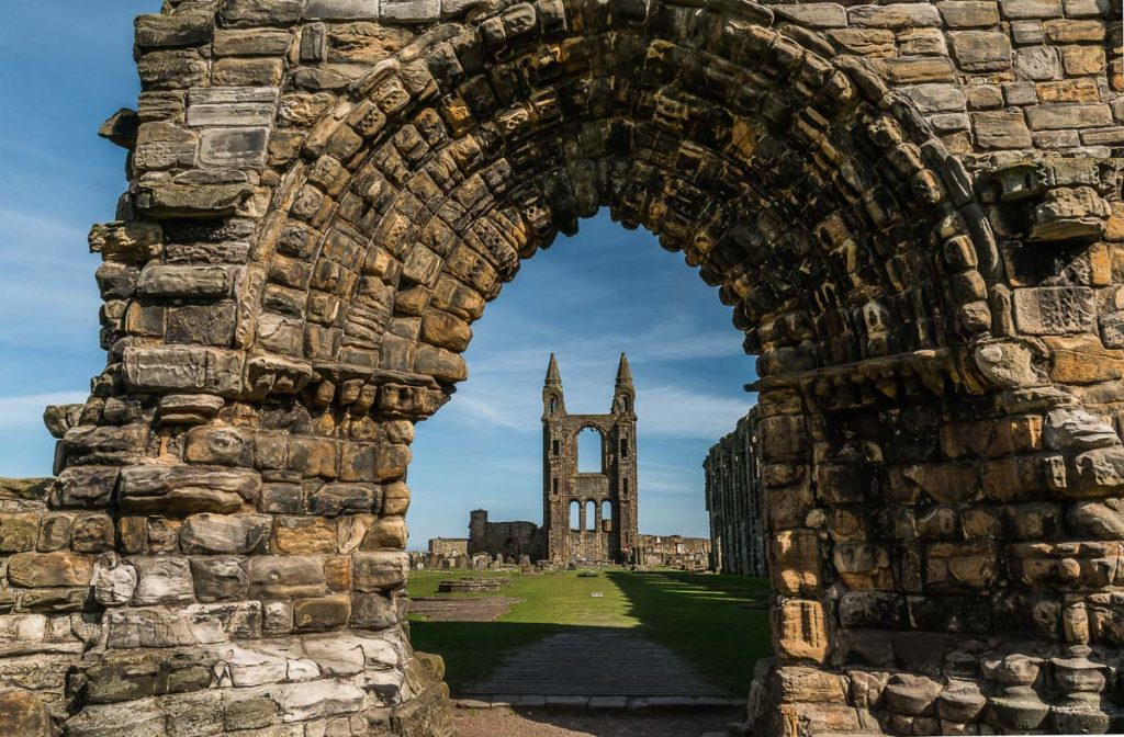 St Andrews cathedral, Fife, Scotland