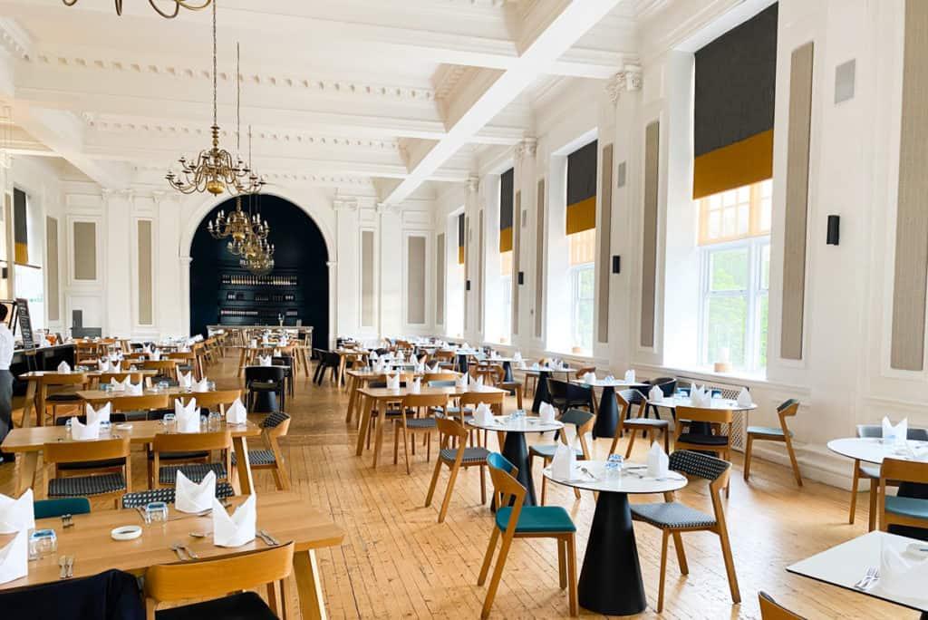 Peebles Hydro Dining Room Scottish Borders