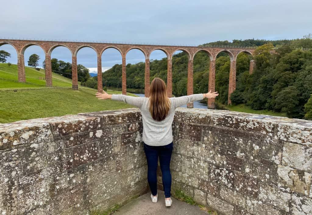 Leaderfoot Viaduct - Scottish Borders