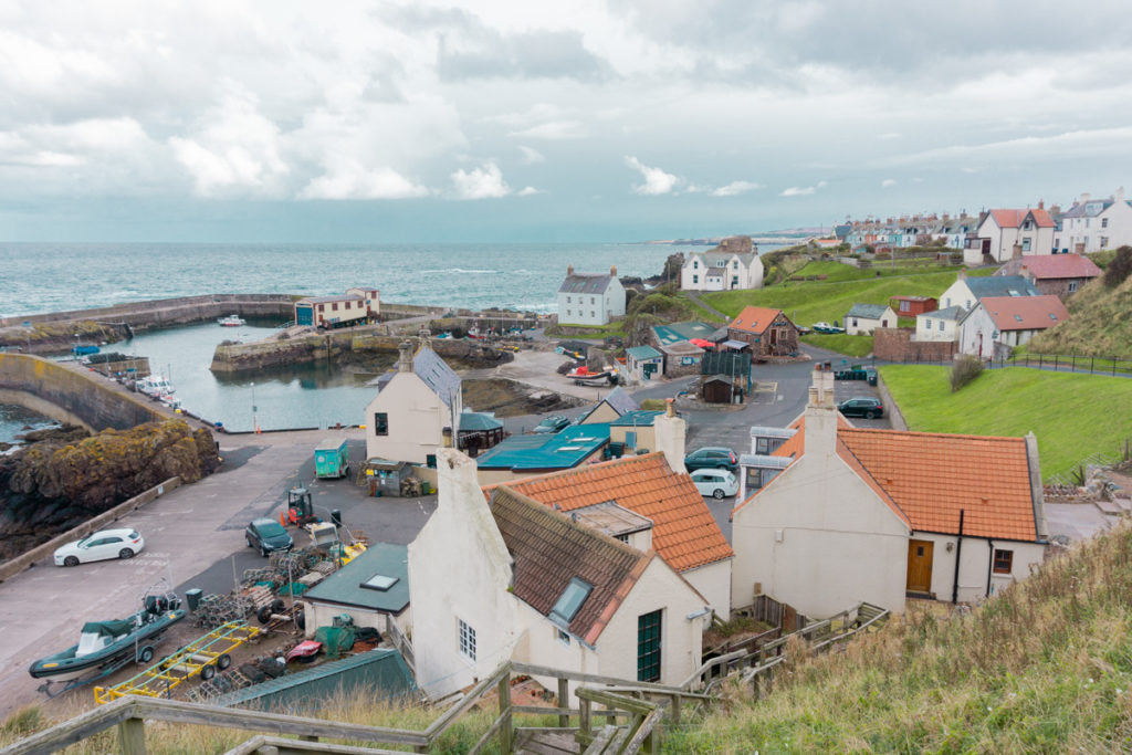 Village of St Abbs and Harbour - Scottish Borders