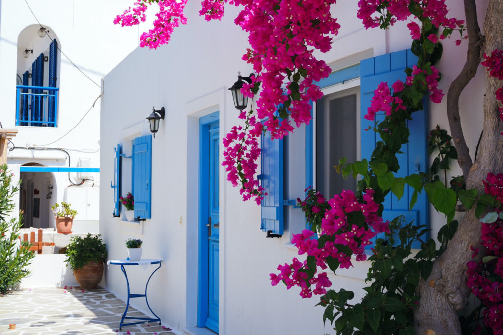 Best Greek Islands for Families - Street in Antiparos