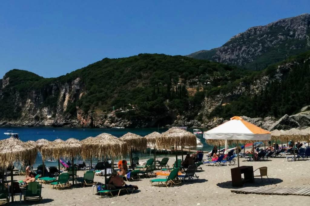 Best Greek Islands for Families - Beach in Corfu