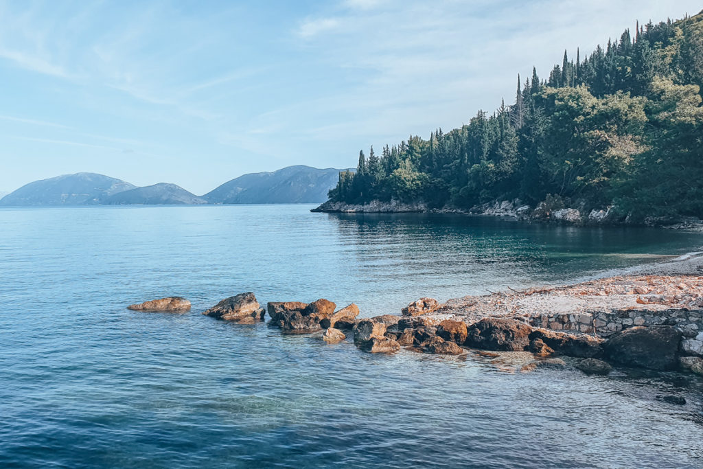 Best Greek Islands for Families - View in Kefalonia