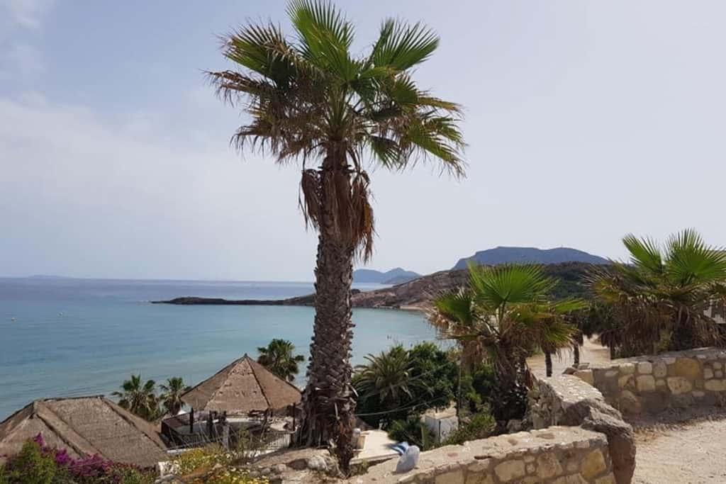 Best Greek Islands for Families - Sea view in Kos