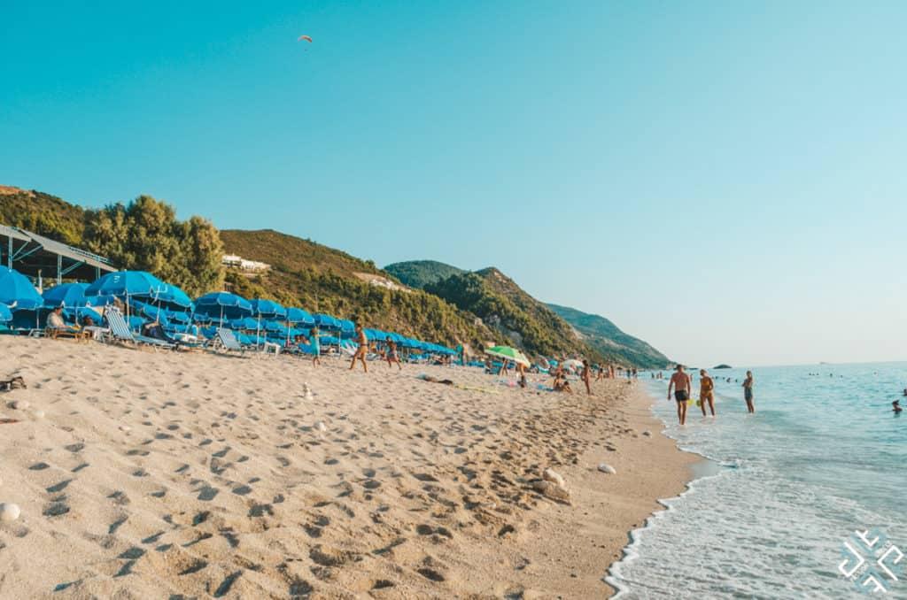 Best Greek Islands for Families - Beach in Lefkada