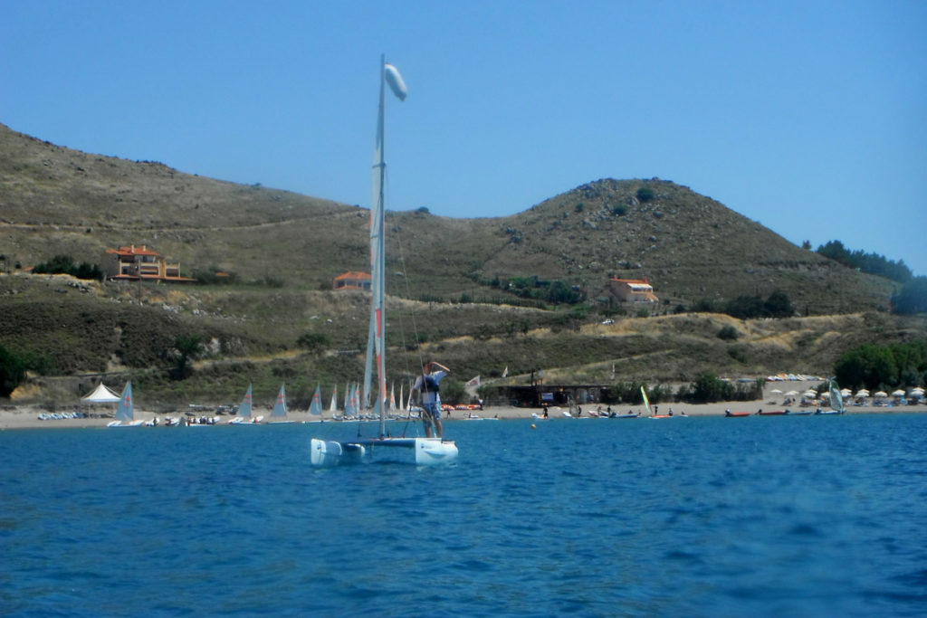 Best Greek Islands for Families - Boat sailing in Lemnos