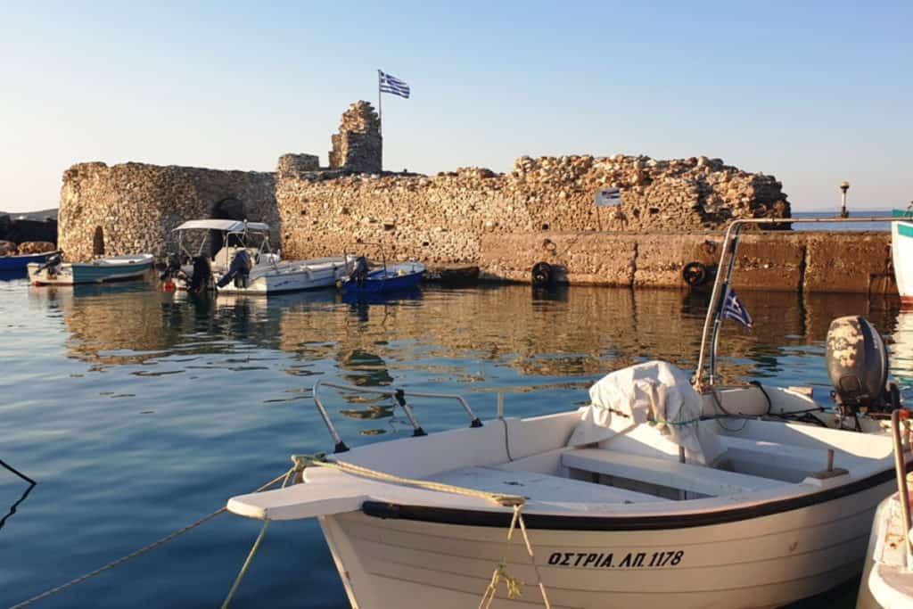 Best Greek Islands for Families - Harbour in Paros
