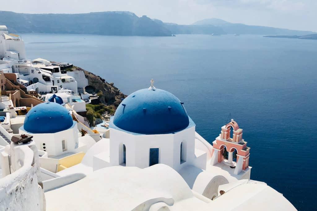 Best Greek Islands for Families - Views from Caldera at Santorini