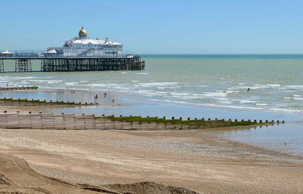Eastbourne Beach South England