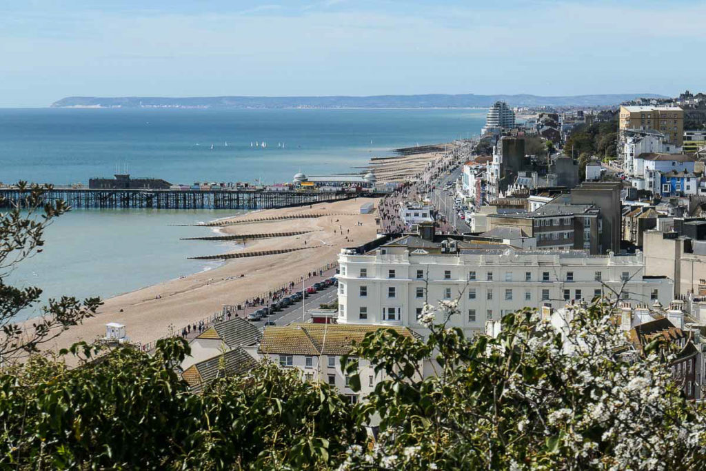 View of Hastings Old Town