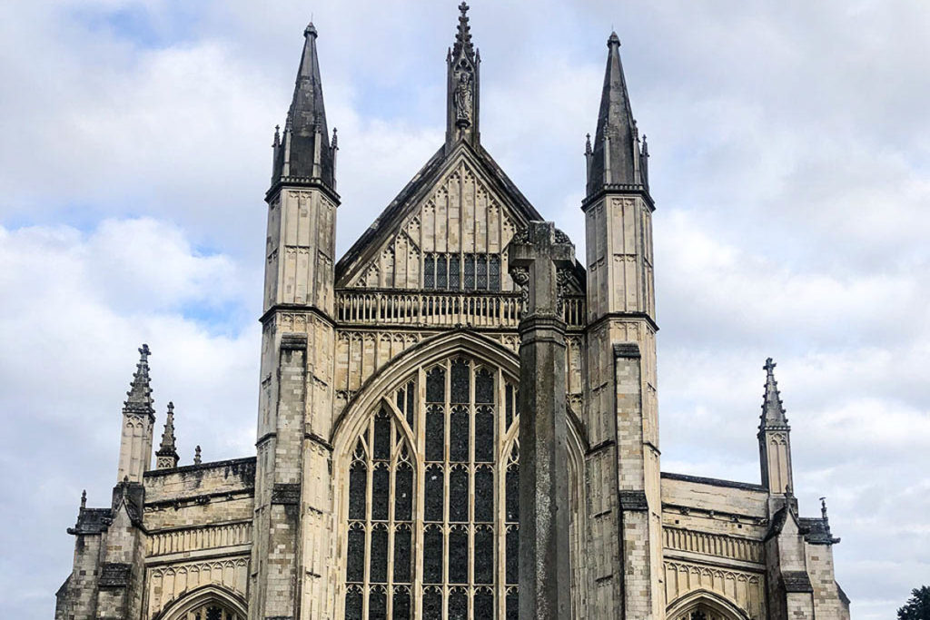 Winchester Cathedral, South England